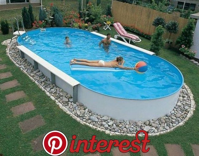 20+ Affordable Ground Pool Landscaping Ideas Installing a