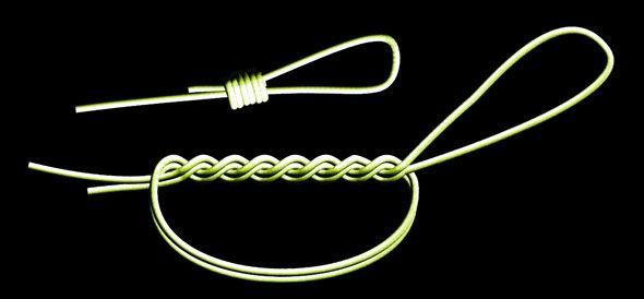 saltwater fishing knot