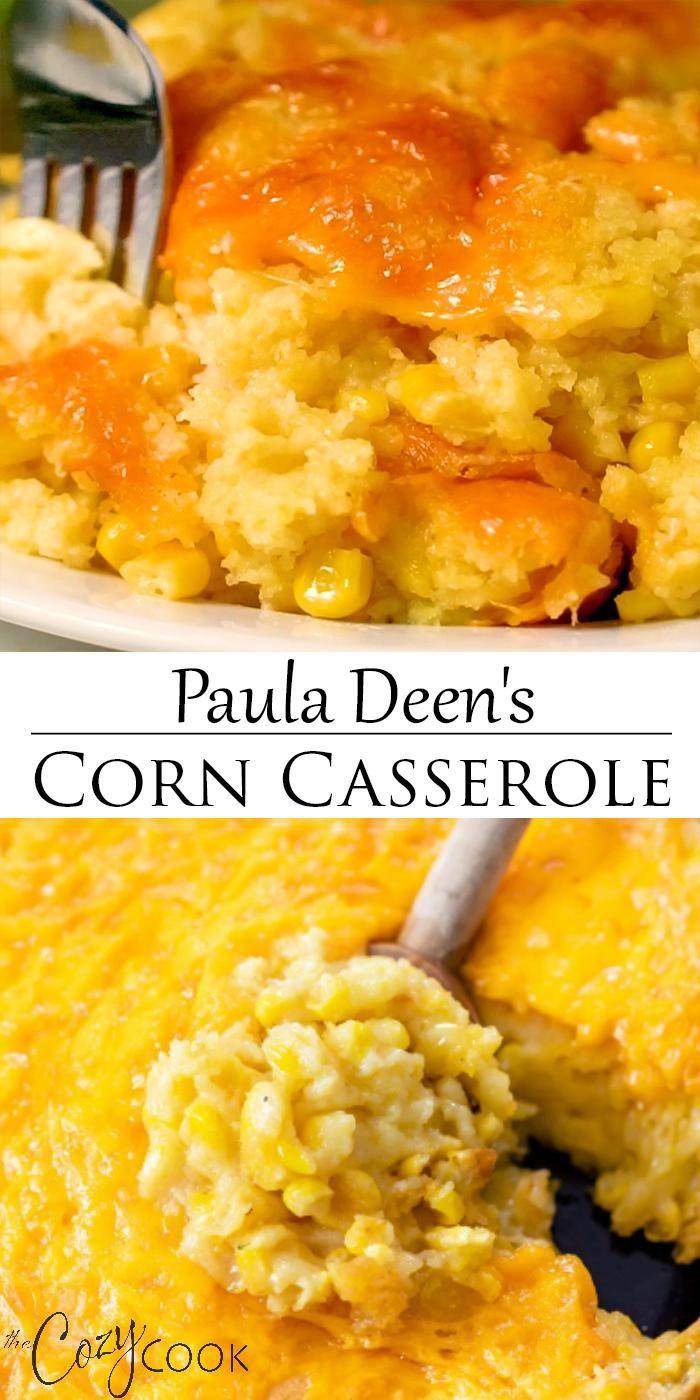 Corn Casserole - Paula Deen's Recipe