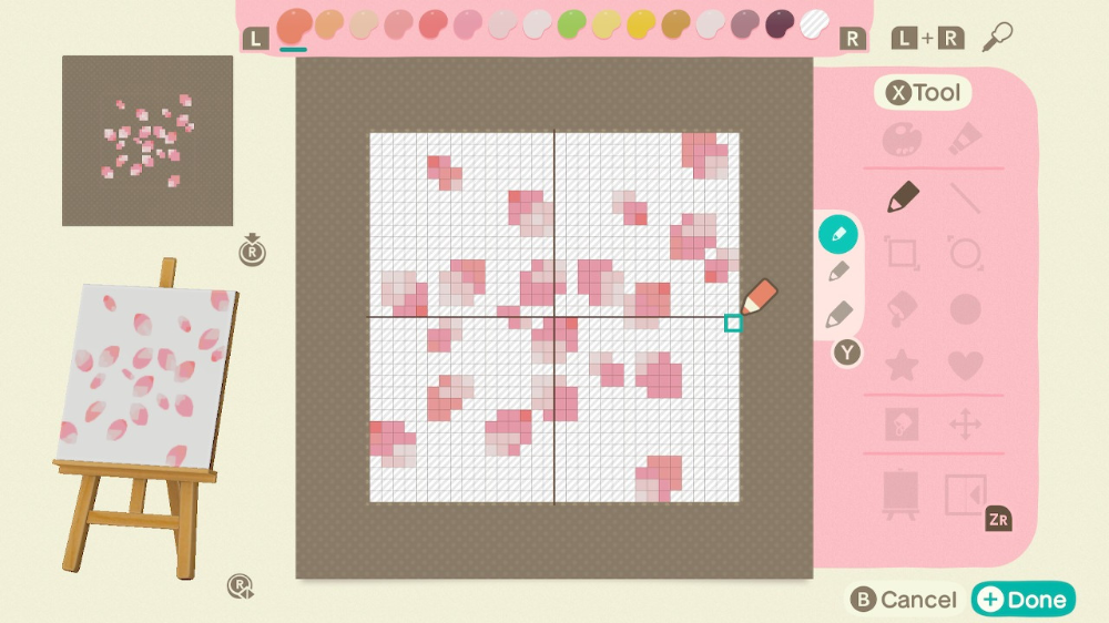 Animal Crossing Qr Code Blog Cherry Blossom Petals Animal Crossing Animal Crossing Qr New Animal Crossing