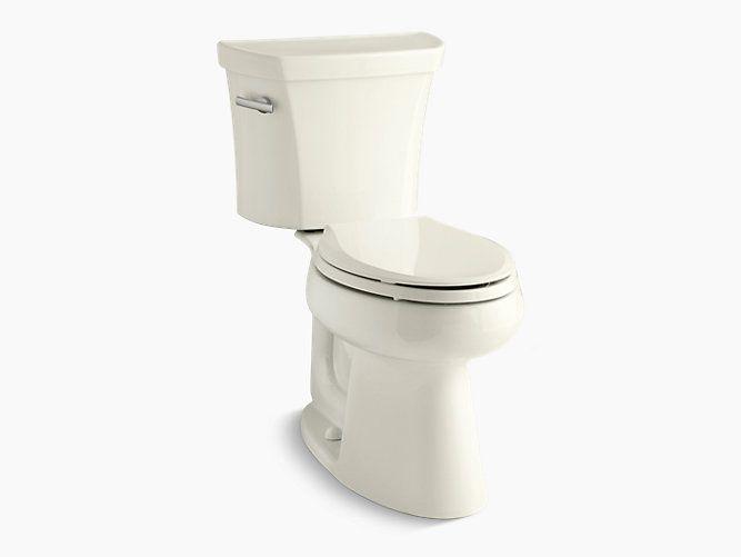 Kohler K 3999 Highline Comfort Height Elongated 1 28 Gpf Toilet Kohler Dual Flush Toilet Kohler Toilet Kohler