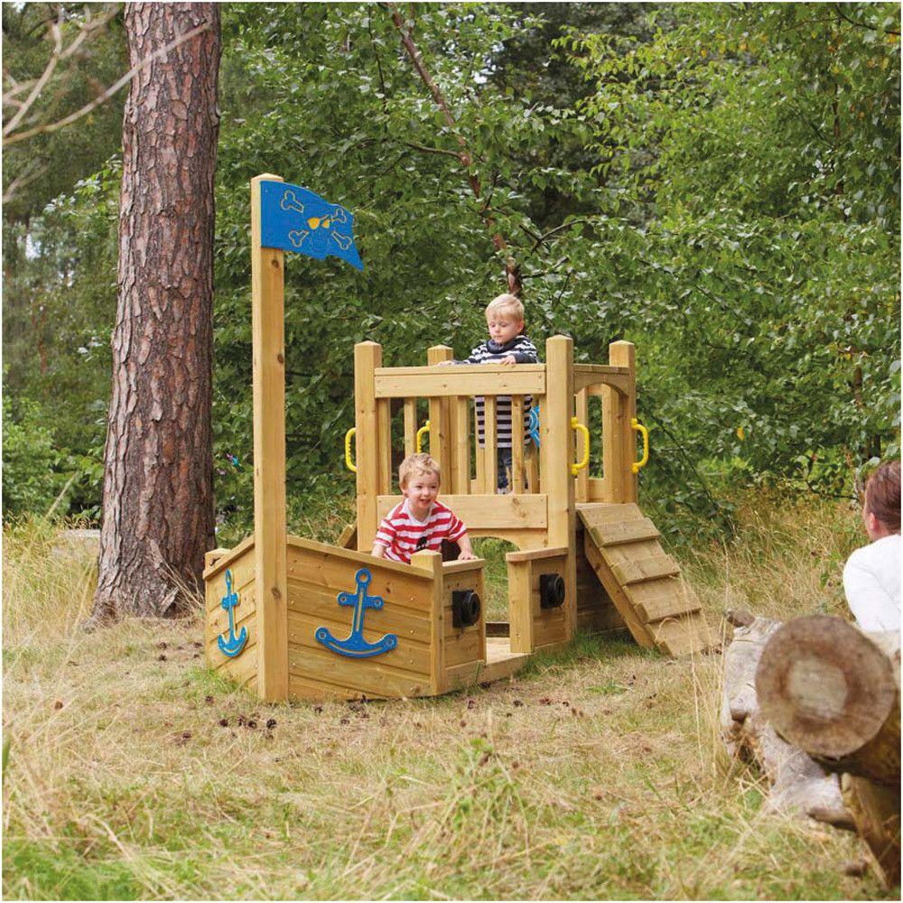 Kinder Spielplatz Garten Sandkasten Piratenschiff Selberbauen Diy Sandbox Pirateship Gart Kinder Spielplatz Garten Sandkasten Piratenschiff Spielplatz