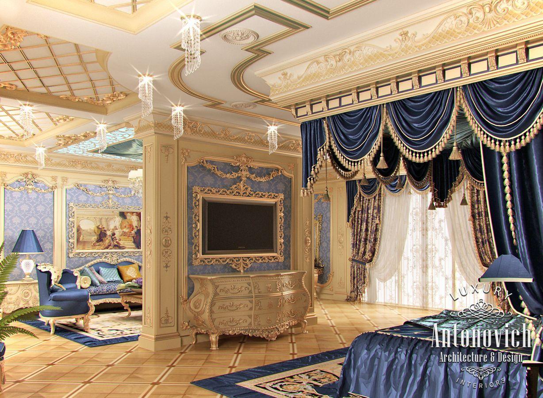 Arredamento Lusso ~ Lusso antonovich progettazione eau: camera da letto design da