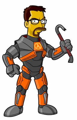 Gordon Freeman Homero Personagens