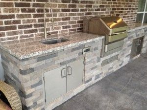 airstone spices up an outdoor kitchen | the great outdoors