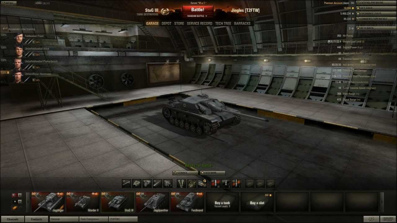 World Of Tanks Stug Iii Tier 5 Tank Destroyer Silent