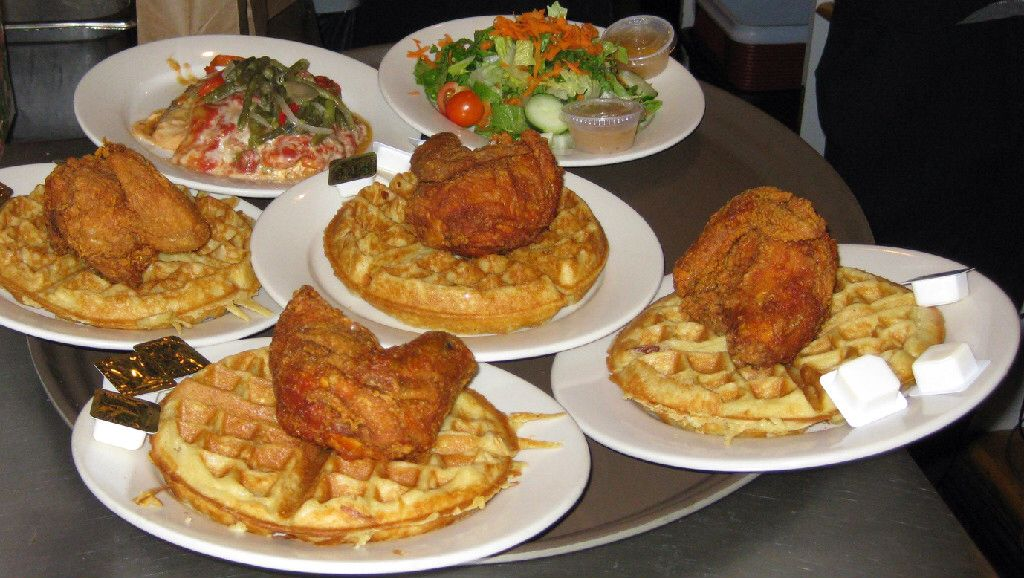 Amy Ruths Harlem Nyc Rev Al Sharptons Chicken And Waffles Best