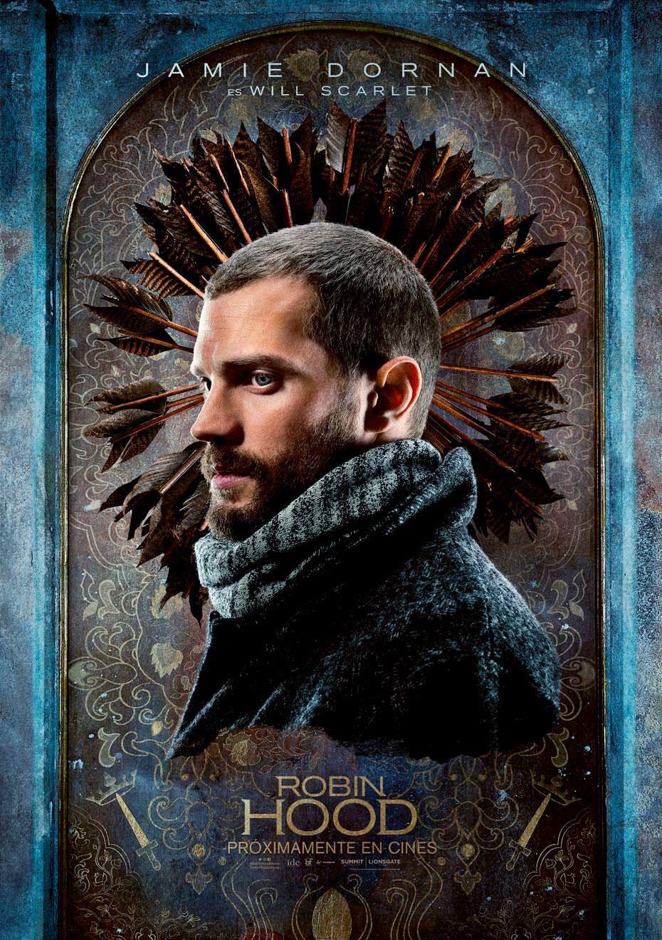 Robin Hood 2018 Posters De Personajes Robin Hood Jamie Dornan Robin