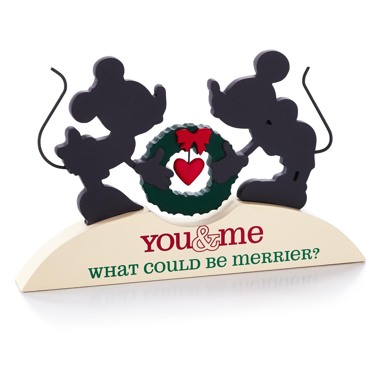 Mickey mouse and minnie mouse silhouette plaque large mickey mouse and minnie mouse silhouette plaque large hallmark12gifts biocorpaavc