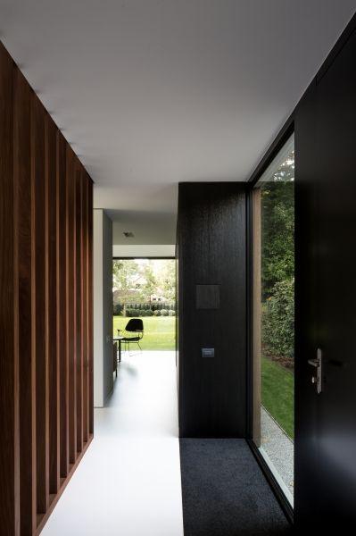 House m de pinte projects caan architecten gent doors deuren pinterest deuren - Moderne woning buiten lay outs ...