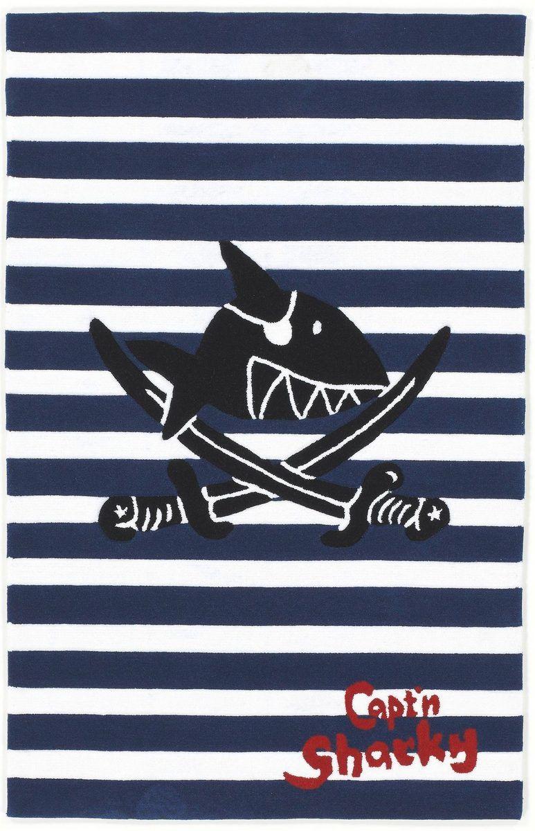 Kinderteppich Sh 2361 01 Capt N Sharky Rechteckig