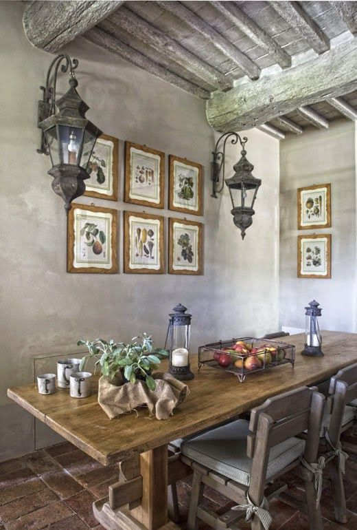 Amenajare Provensală în Toscana Phantastic Rooms Einrichtung Und