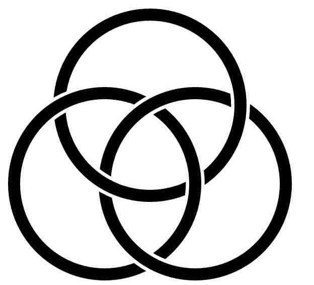 The Borromean Rings Trinity God Son And Holy Spirit Tattoos