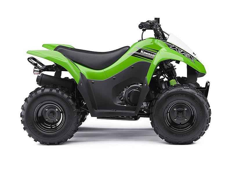 New 2016 Kawasaki KFX 90 ATVs For Sale in Florida. 2016 Kawasaki KFX 90, 2016 KAWASAKI KFX® 90THE KAWASAKI DIFFERENCEThe KFX®90 ATV provides the ideal blend of size and performance for riders 12 and older that are stepping-up from a 50cc ATV or just getting started.Features May Include:89cc four-stroke engine and automatic transmission delivers broad power delivery with plenty of usable torquePush button electric start provides simple and reliable startingParental controls such as an…