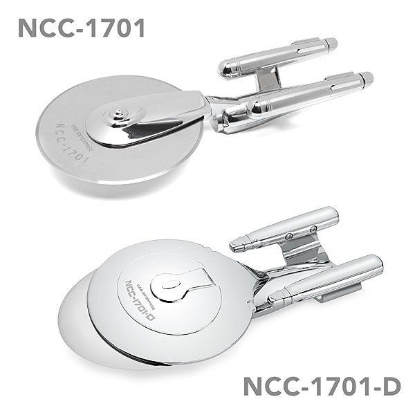 Star Trek Enterprise Pizza Cutter Set