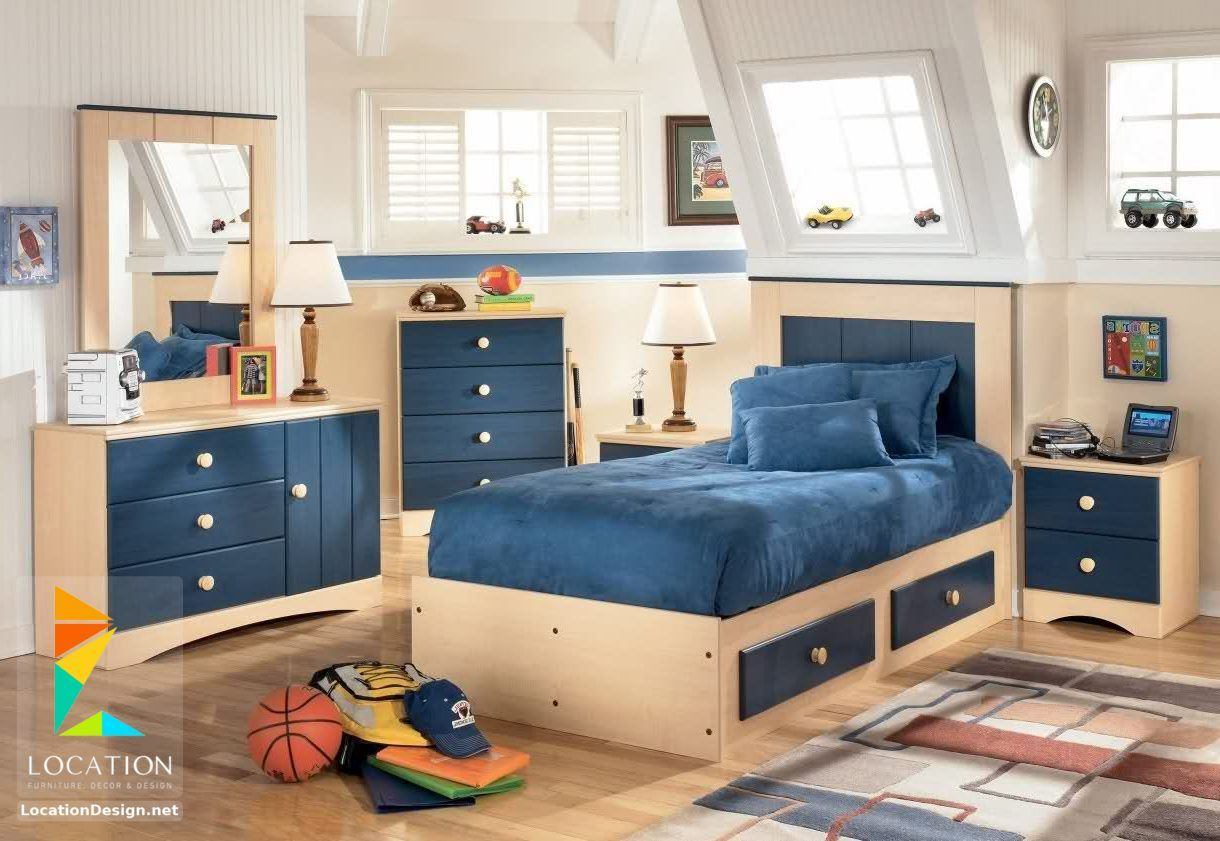 غرف نوم اولاد شباب أحدث موديلات غرف شبابي مودرن لوكشين ديزين نت Kids Bedroom Furniture Sets Bedroom Furniture Sets Childrens Bedroom Furniture