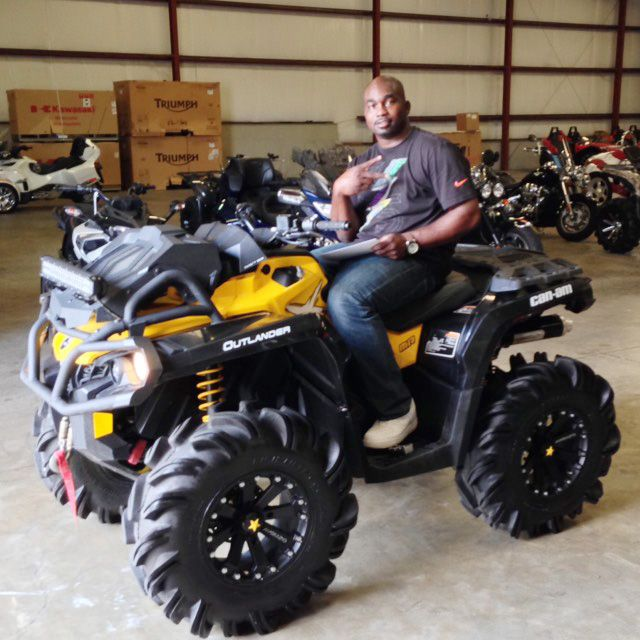 Thanks to Derrick Brown from Mc b MS for ting a 2015 Can Am