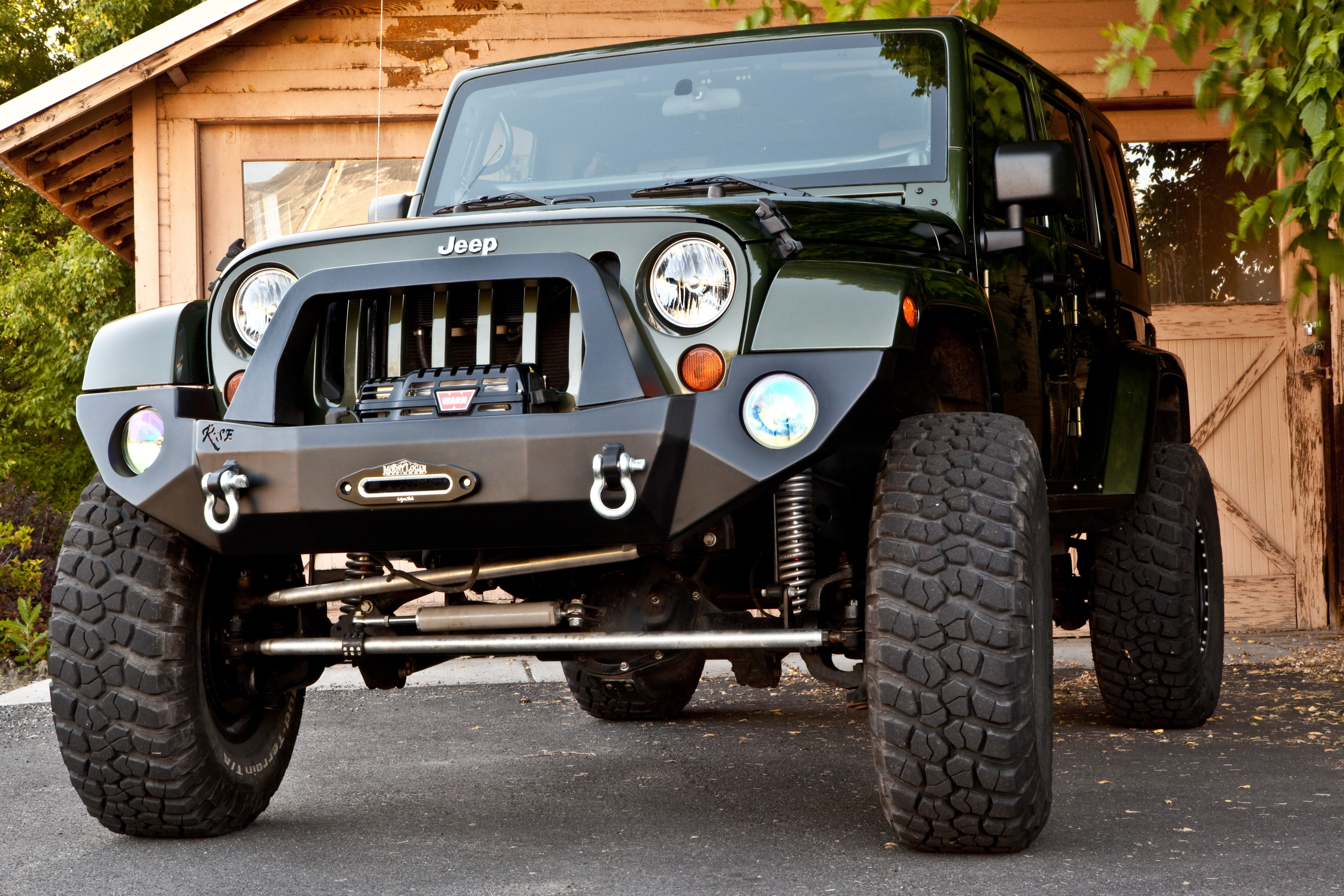 Rock Slide Engineering Ridge Series Full Front Bumper For Jeep Jk Jeep Bumpers Jeep Jk Jeep