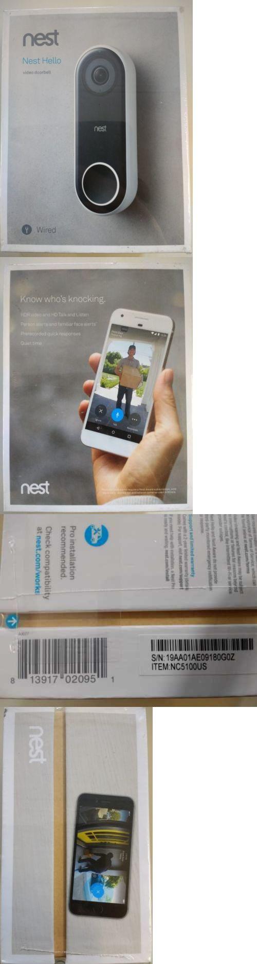 Doorbells 115975: Brand New Sealed Nest Hello Smart Wi-Fi Hd