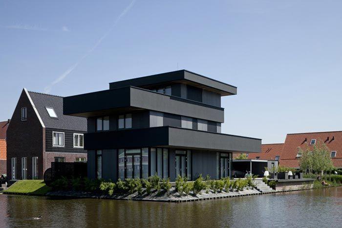Villa design en Hollande | house maison inspiration extérieur ...