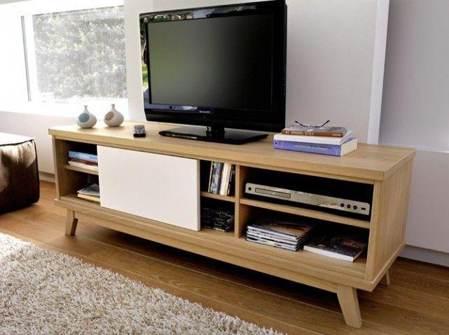 meuble tv but | furniture | pinterest | déco et boisé - Meuble Design Scandinave Pas Cher