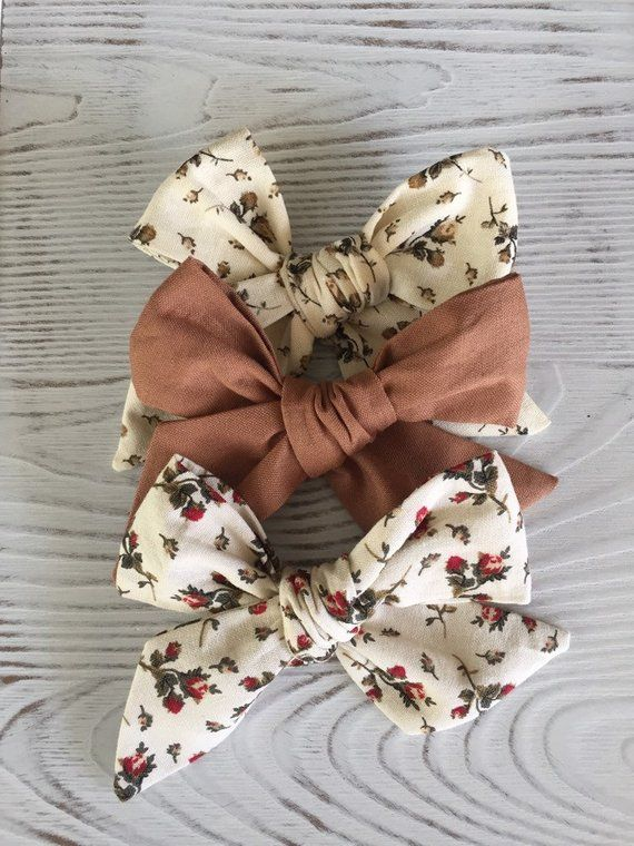 Floral PinWheel Bows, Floral Bows, Cotton Bows, baby bows,Toddler bows,Kid bows,Hair Accessories, Hair Clips, Custom Bows, Adult Bows