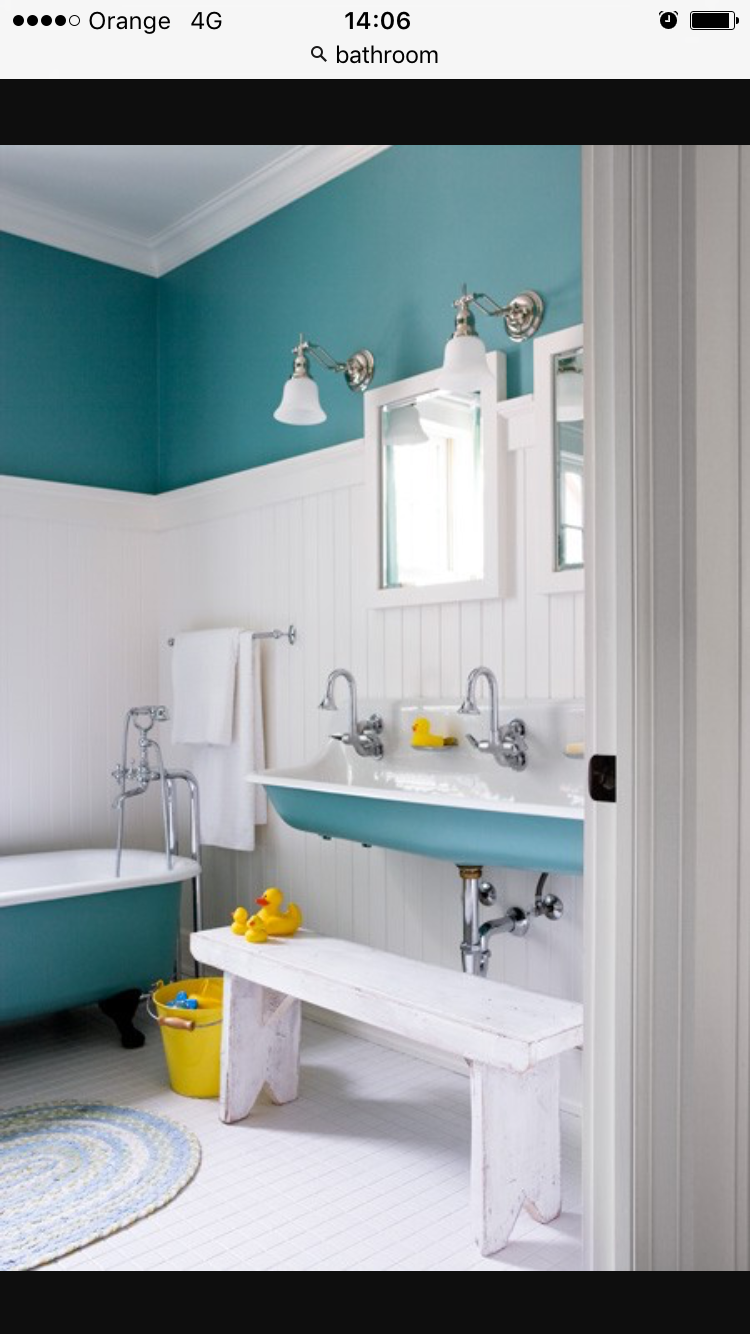 21 Captivating Bathroom Paint Turquoise You Re Sure To Love Kid Bathroom Decor Bathroom Decor Trendy Bathroom