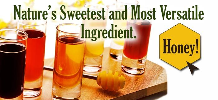 honey.com - National Honey Board.    Nature's sweetest and most versatile ingredient-honey!    Tons of info, honey locator, and recipes!