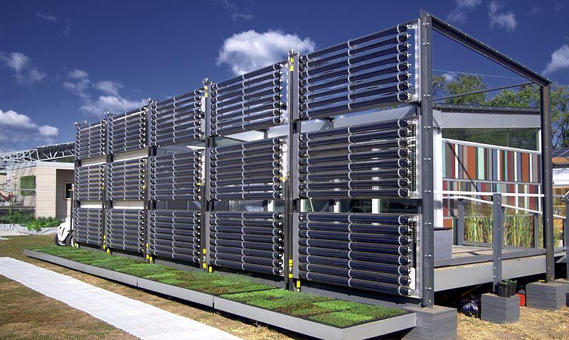 FileUniversity of Cincinnati house (solar panels) at