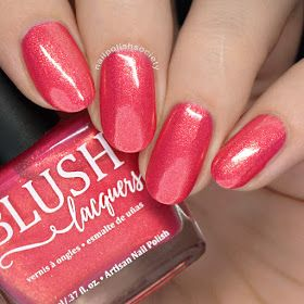 BLUSH Lacquers Beachside Sunset Collection
