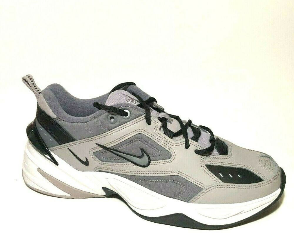 Nike M2k Tekno Mens Shoes 10 5 Atmosphere Grey Black Av4789 007 Nike Casual In 2020 Running Shoes For Men Nike Nike Shoes