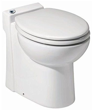 Awe Inspiring Saniflo 023 Sanicompact 48 One Piece Toilet With Macerator Machost Co Dining Chair Design Ideas Machostcouk