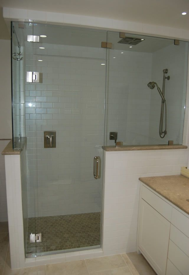 Pin By Stacey Lauritano On Ensuite Half Wall Shower Half Walls