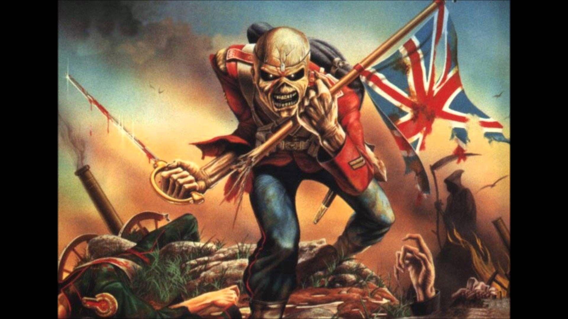 Iron Maiden- The Trooper (HD with Lyrics) | Music | Iron