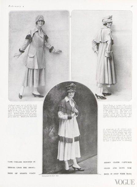 d9efeae7168 1916 Chanels Jersey Suit Vintage Jerseys