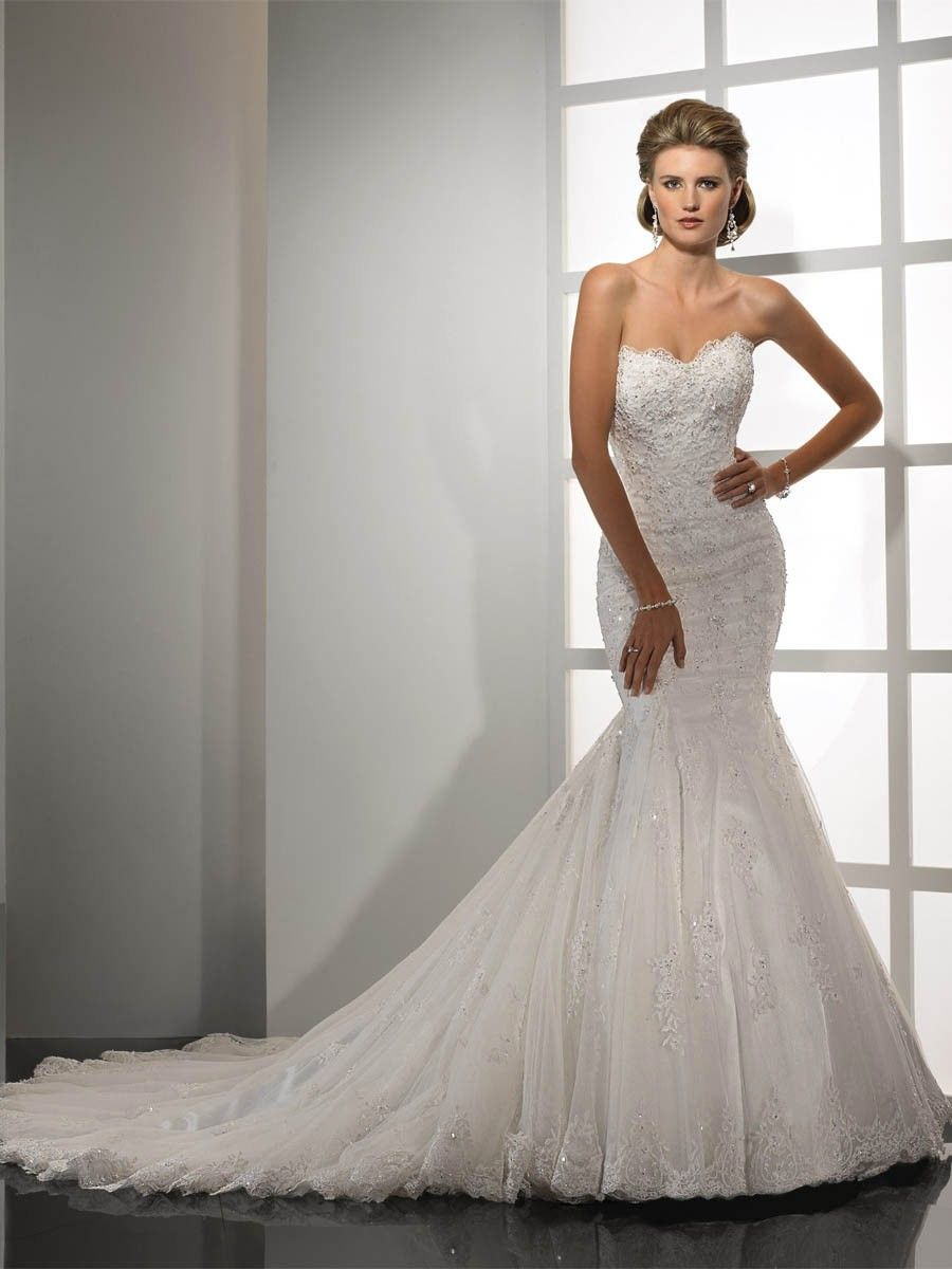 Bridal Gowns Add Straps With A Super Low Back That Laces Up And Its Perfect