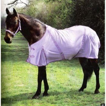 Horse In Purple Fleece Rug