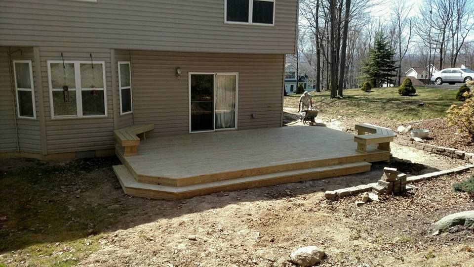 Best way to make use of a small deck area adding built in