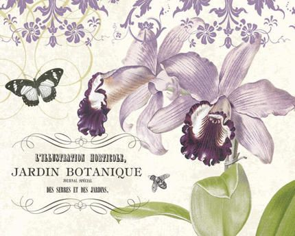Jardin Botanique II Art Print
