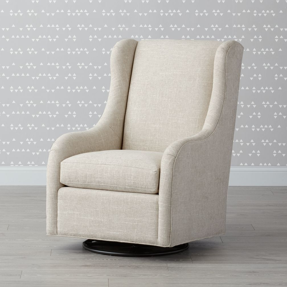 Crate And Barrel Rocking Chair Dottie Glider Rev Nursery Glenda Antonio M Swivel Glider