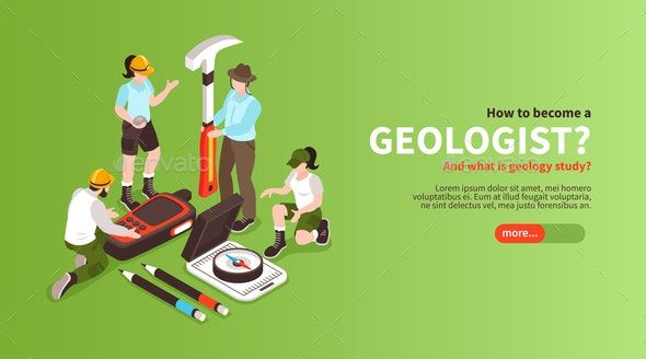 Become Geologist Horizontal Banner