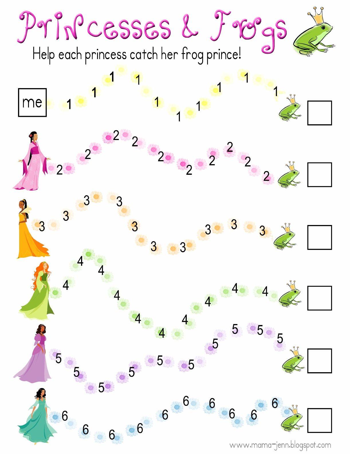 Princesses Amp Frogs