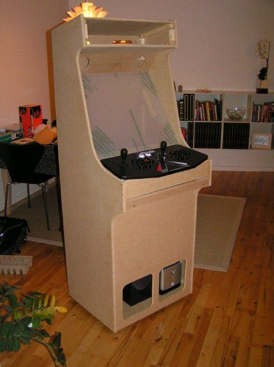 Project MAME - Build your own MAME cabinet - Step 1 | MAME Cabinet ...