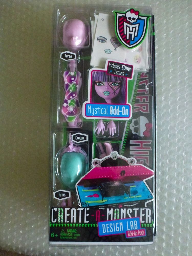 Details About Monster High Doll Mystical Add On Create A Monster