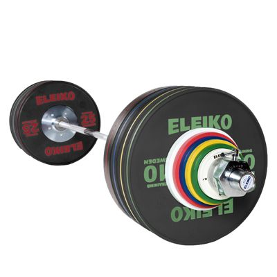 Eleiko Olympic Weightlifting Training Set - Men's 190kg