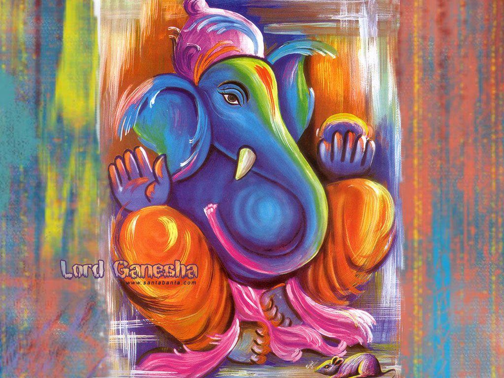 Free Download Lord Ganesha Wallpapers Ganesha Painting Lord Ganesha Paintings Ganesha Art