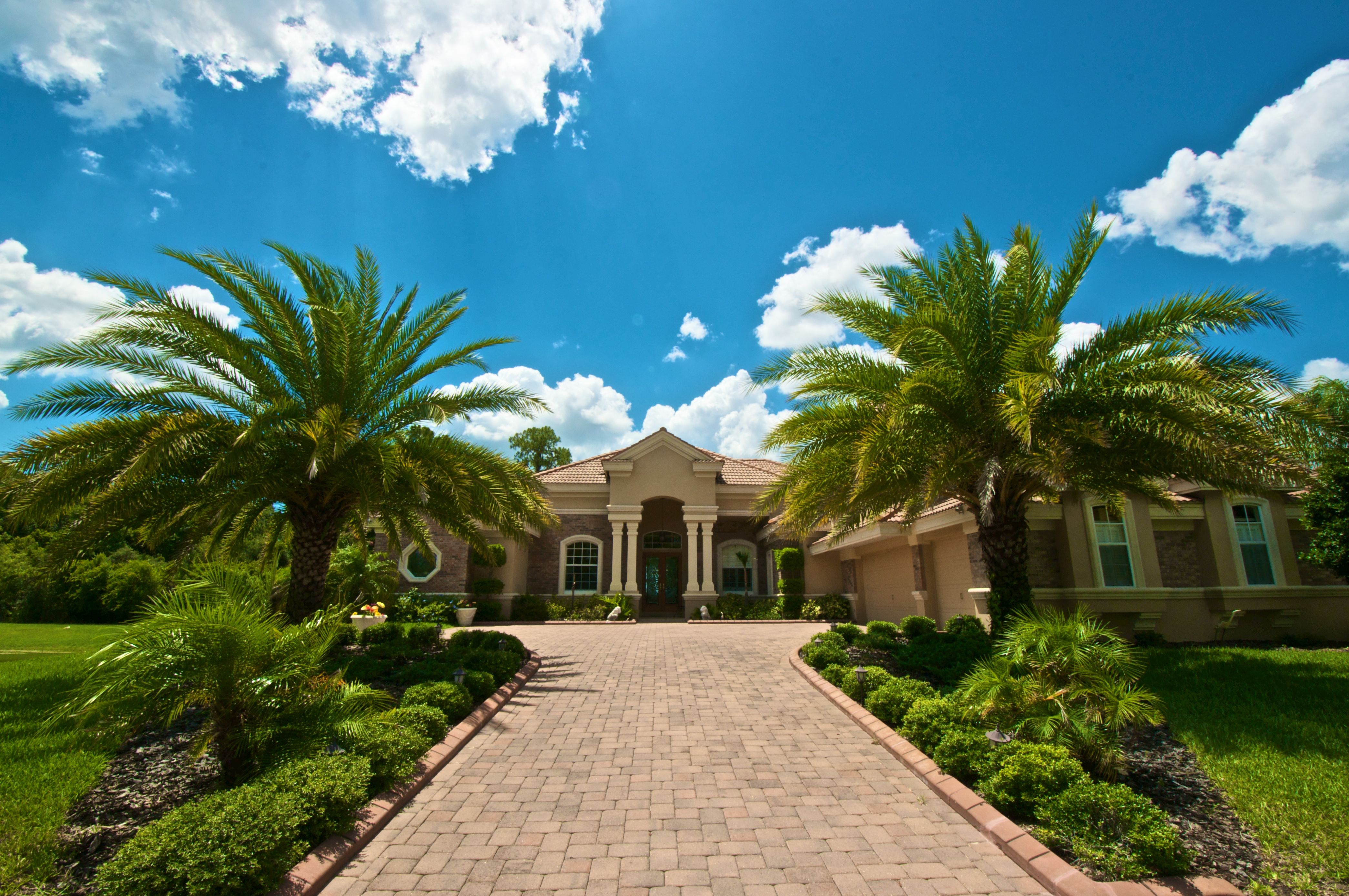 Located In Lansbrook, A Golf And Boating Community Bordering On Lake Tarpon. This Beautiful Home With Tile Roof, Built In 2005 By Mark Maconi. Has Four Bedrooms, Four Baths, Oversized Three Car Garage, Library, Living Room, Dining Room, Bonus Room, Family Room With Fireplace, Media Room With Surround Sound,