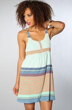The Flipside Dress in Beach Glass by O'Neill - $36