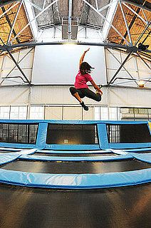 A Visit To San Francisco S House Of Air Trampoline Gym Trampoline Gym San Francisco Houses Gym