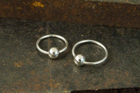 10mm Nose Ring Hoop,Sterling Silver Nose Rings,Nose Piercing,Nose Hoop, Silver Nose Rings, Lip Rings #nosering